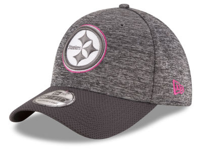 Pittsburgh Steelers NFL Breast cancer Awareness Official 39THIRTY Cap Hats