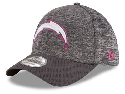 San Diego Chargers NFL Breast cancer Awareness Official 39THIRTY Cap Hats