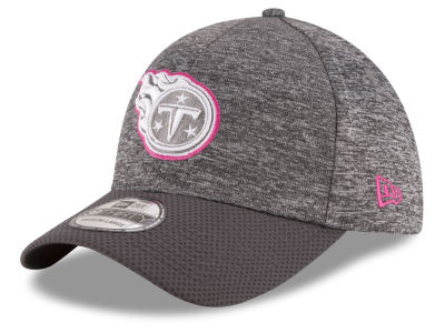 Tennessee Titans NFL Breast cancer Awareness Official 39THIRTY Cap Hats