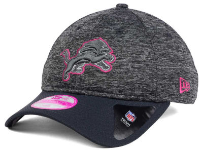 Detroit Lions NFL Women's Breast Cancer Awareness 9TWENTY Cap Hats