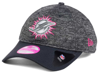 Miami Dolphins NFL Women's Breast Cancer Awareness 9TWENTY Cap Hats
