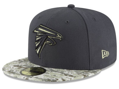 Atlanta Falcons NFL Salute to Service Official 59FIFTY Cap Hats