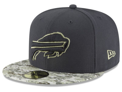 Buffalo Bills NFL Salute to Service Official 59FIFTY Cap Hats