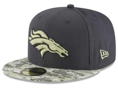 Denver Broncos NFL Salute to Service Official 59FIFTY Cap Hats