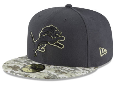 Detroit Lions NFL Salute to Service Official 59FIFTY Cap Hats