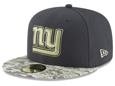New York Giants NFL Salute to Service Official 59FIFTY Cap Hats