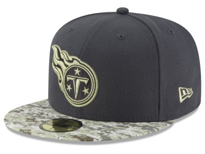 Tennessee Titans NFL Salute to Service Official 59FIFTY Cap Hats