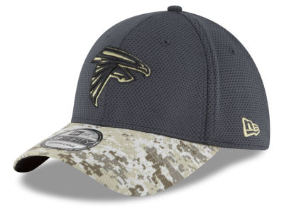 Atlanta Falcons NFL Salute to Service Official 39THIRTY Cap Hats