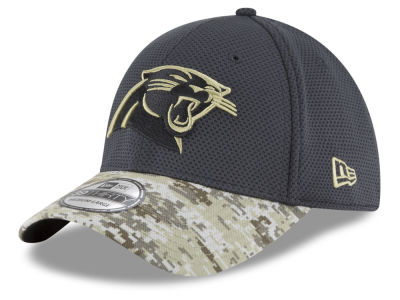 Carolina Panthers NFL Salute to Service Official 39THIRTY Cap Hats