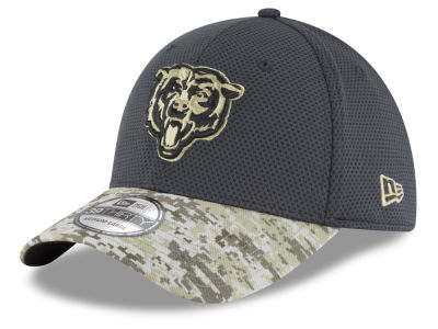 Chicago Bears NFL Salute to Service Official 39THIRTY Cap Hats