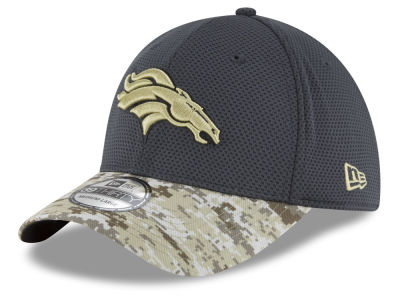 Denver Broncos NFL Salute to Service Official 39THIRTY Cap Hats