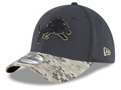 Detroit Lions NFL Salute to Service Official 39THIRTY Cap Hats
