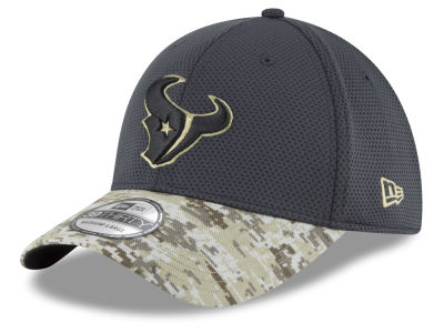 Houston Texans NFL Salute to Service Official 39THIRTY Cap Hats