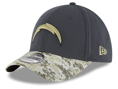 San Diego Chargers NFL Salute to Service Official 39THIRTY Cap Hats