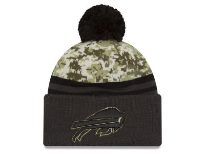 Buffalo Bills NFL Salute to Service Official Pom Knit Hats