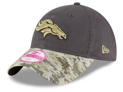 Denver Broncos NFL Salute to Service Women's 9TWENTY Cap Hats