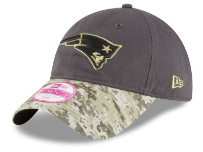 New England Patriots NFL Salute to Service Women's 9TWENTY Cap Hats