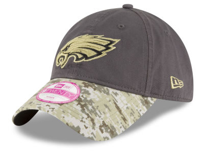 Philadelphia Eagles NFL Salute to Service Women's 9TWENTY Cap Hats