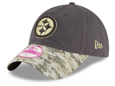 Pittsburgh Steelers NFL Salute to Service Women's 9TWENTY Cap Hats