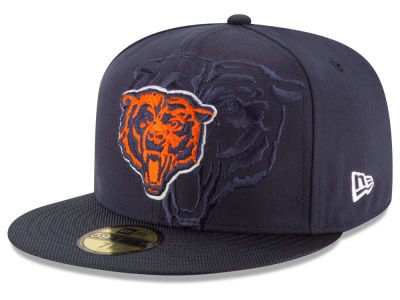 Chicago Bears 2016 Official NFL Sideline 59FIFTY Cap Hats