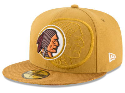 Washington Redskins 2016 Official NFL Sideline 59FIFTY Cap Hats