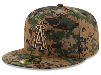 Los Angeles Angels MLB 2016 Memorial Day 59FIFTY Cap Hats