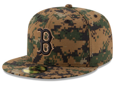 Boston Red Sox MLB 2016 Memorial Day 59FIFTY Cap Hats