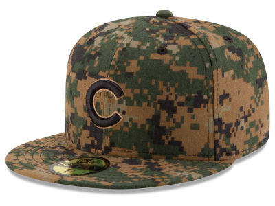 Chicago Cubs MLB 2016 Memorial Day 59FIFTY Cap Hats