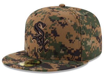 Chicago White Sox MLB 2016 Memorial Day 59FIFTY Cap Hats