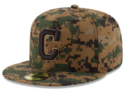 Cleveland Indians MLB 2016 Memorial Day 59FIFTY Cap Hats
