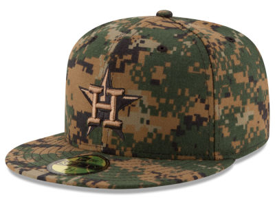 Houston Astros MLB 2016 Memorial Day 59FIFTY Cap Hats