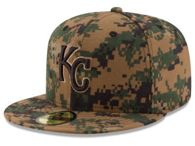 Kansas City Royals MLB 2016 Memorial Day 59FIFTY Cap Hats