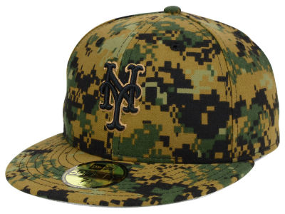 New York Mets MLB 2016 Memorial Day 59FIFTY Cap Hats