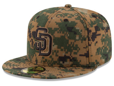 San Diego Padres MLB 2016 Memorial Day 59FIFTY Cap Hats