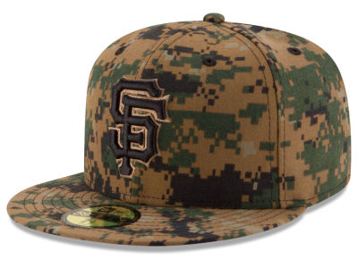 San Francisco Giants MLB 2016 Memorial Day 59FIFTY Cap Hats