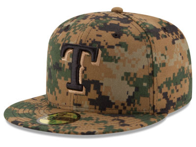 Texas Rangers MLB 2016 Memorial Day 59FIFTY Cap Hats