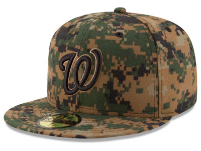 Washington Nationals MLB 2016 Memorial Day 59FIFTY Cap Hats