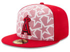 Los Angeles Angels New Era 2016 MLB AC Stars & Stripes 59FIFTY Cap Fitted Hats