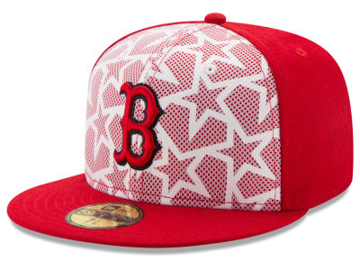 Boston Red Sox 2016 MLB AC Stars & Stripes 59FIFTY Cap Hats