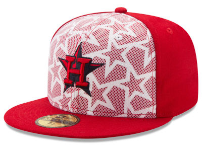 Houston Astros 2016 MLB AC Stars & Stripes 59FIFTY Cap Hats