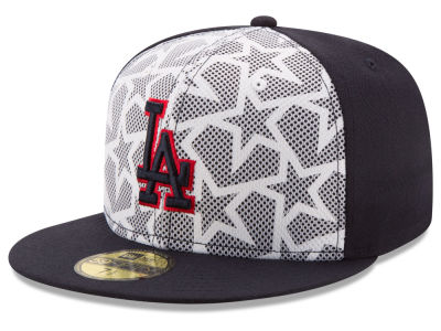 Los Angeles Dodgers 2016 MLB AC Stars & Stripes 59FIFTY Cap Hats