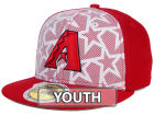 Arizona Diamondbacks New Era 2016 MLB Kids AC Stars & Stripes 59FIFTY Cap Fitted Hats