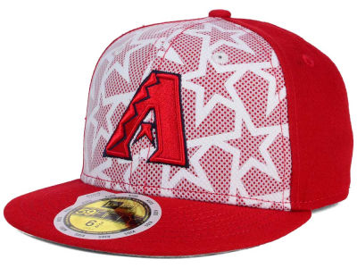 Arizona Diamondbacks 2016 MLB Kids AC Stars & Stripes 59FIFTY Cap Hats