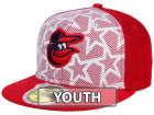Baltimore Orioles New Era 2016 MLB Kids AC Stars & Stripes 59FIFTY Cap Fitted Hats