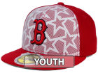 Boston Red Sox New Era 2016 MLB Kids AC Stars & Stripes 59FIFTY Cap Fitted Hats