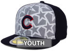 Chicago Cubs New Era 2016 MLB Kids AC Stars & Stripes 59FIFTY Cap Fitted Hats