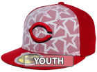 Cincinnati Reds New Era 2016 MLB Kids AC Stars & Stripes 59FIFTY Cap Fitted Hats