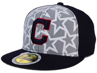 Cleveland Indians 2016 MLB Kids AC Stars & Stripes 59FIFTY Cap Hats