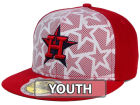 Houston Astros New Era 2016 MLB Kids AC Stars & Stripes 59FIFTY Cap Fitted Hats