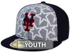 New York Mets New Era 2016 MLB Kids AC Stars & Stripes 59FIFTY Cap Fitted Hats